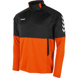Hummel Authentic Ziptop Heren - Oranje / Zwart