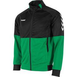 Hummel Authentic Corporate Polyestervest Kinderen - Groen / Zwart