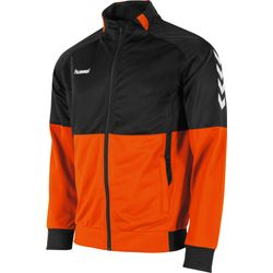 Hummel Authentic Corporate Polyestervest Heren - Oranje / Zwart