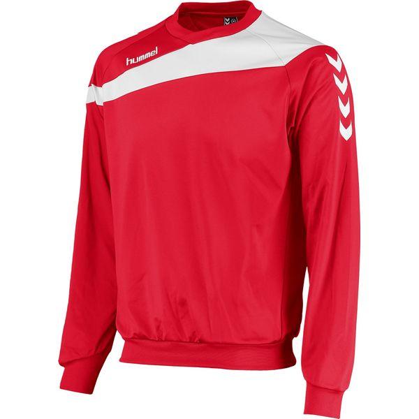 Hummel Elite Sweater Heren - Rood / Wit