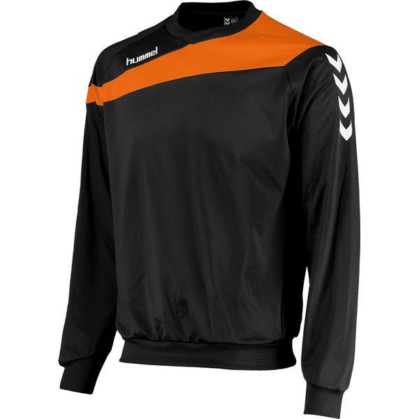 Hummel Elite Sweater Heren - Zwart / Oranje