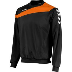 Hummel Elite Sweat Hommes - Noir / Orange