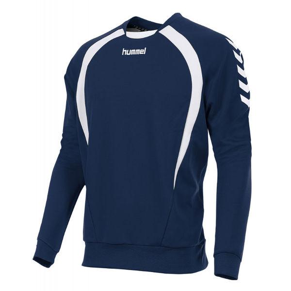 Hummel Team Sweat Hommes - Marine / Blanc