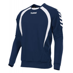 Hummel Team Sweater - Marine / Wit