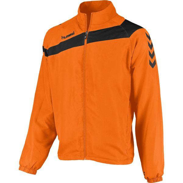Hummel Elite Presentatiejack Heren - Oranje / Zwart