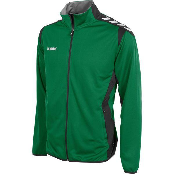 Hummel Paris Trainingstop Heren - Groen / Zwart