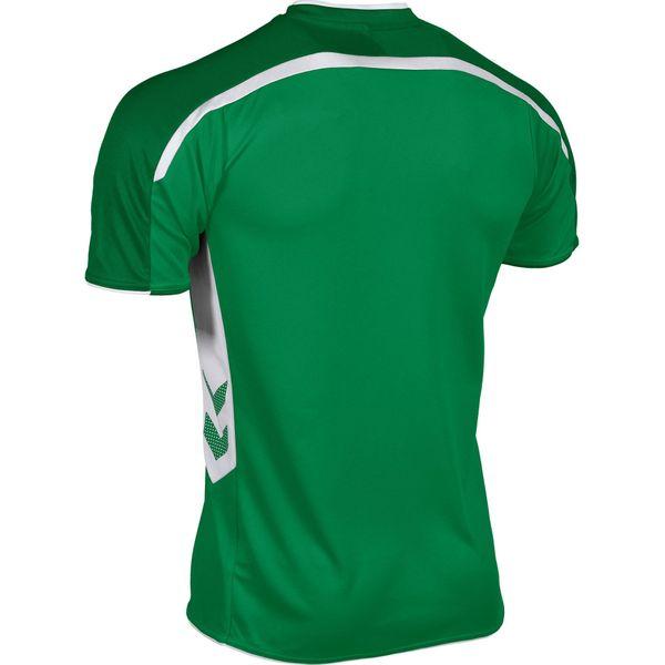 Hummel Preston Shirt Korte Mouw Kinderen - Groen / Wit