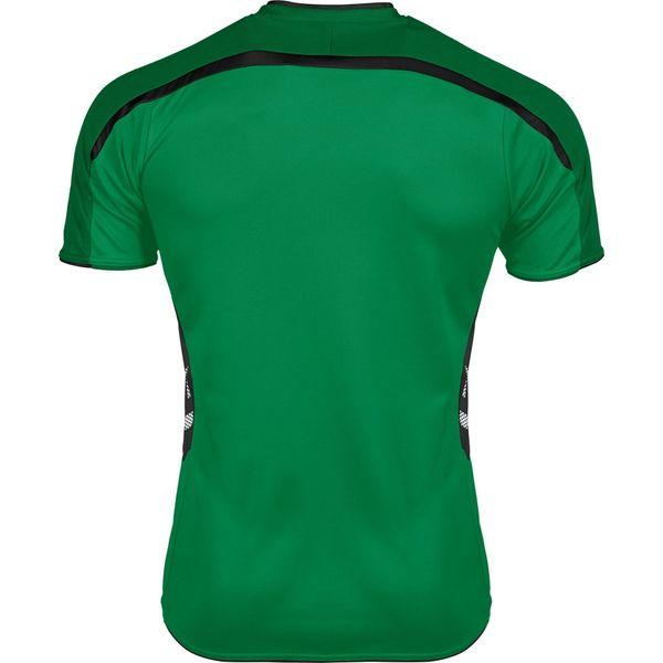 Hummel Preston Shirt Korte Mouw - Groen / Zwart