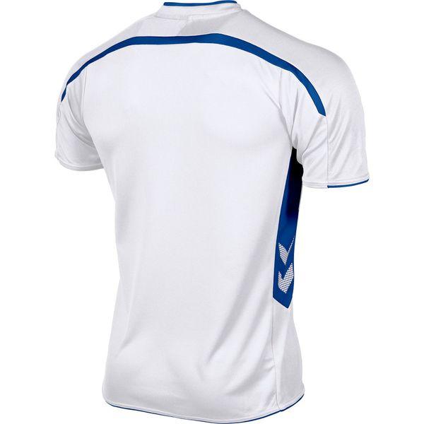 Hummel Preston Shirt Korte Mouw Kinderen - Wit / Royal