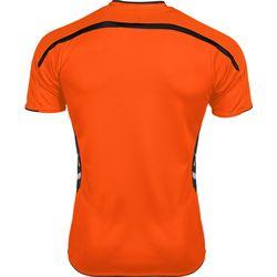 Voorvertoning: Hummel Preston Shirt Korte Mouw Kinderen - Oranje / Zwart