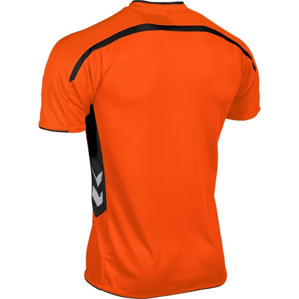 Hummel Preston Shirt Korte Mouw Kinderen - Oranje / Zwart