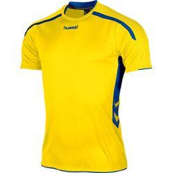 Hummel Preston Shirt Korte Mouw Heren - Geel / Royal