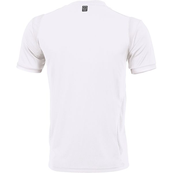 Hummel Club Shirt Korte Mouw Heren - Wit