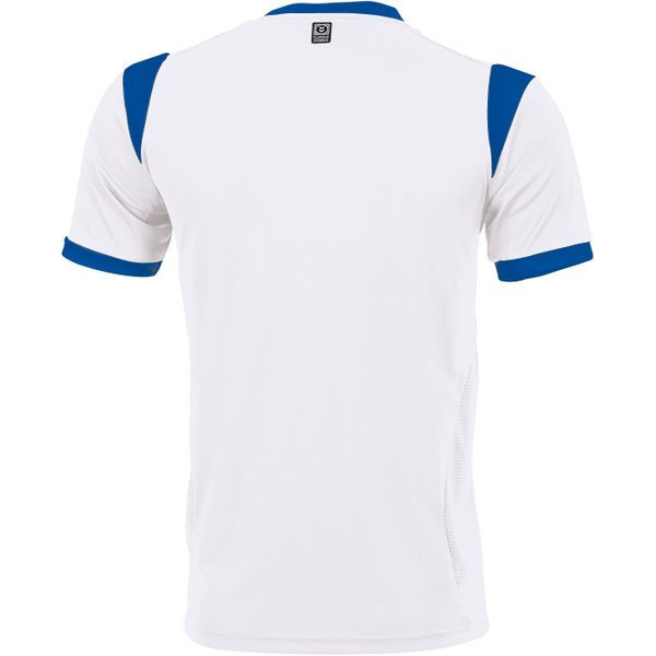 Hummel Club Shirt Korte Mouw Kinderen - Wit / Royal