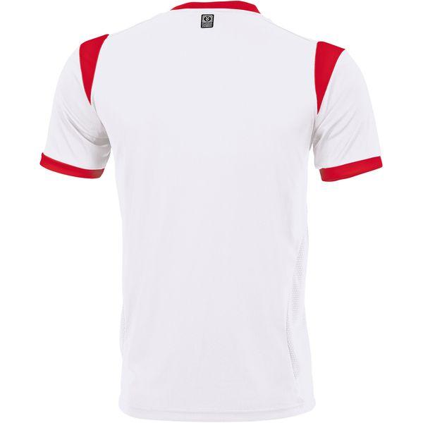Hummel Club Shirt Korte Mouw Kinderen - Wit / Rood