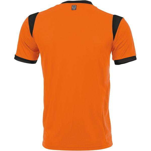 Hummel Club Shirt Korte Mouw Heren - Oranje / Zwart