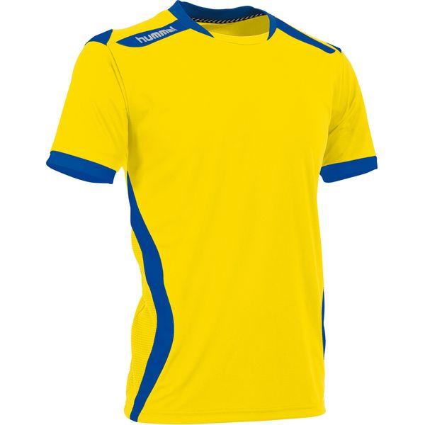 Hummel Club Shirt Korte Mouw Kinderen - Geel / Royal