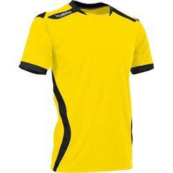 Voorvertoning: Hummel Club Shirt Korte Mouw Heren - Geel / Zwart
