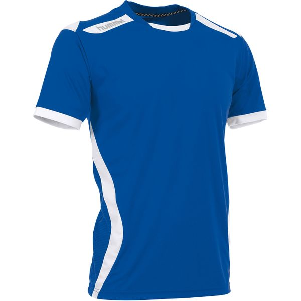 Hummel Club Shirt Korte Mouw Kinderen - Royal / Wit