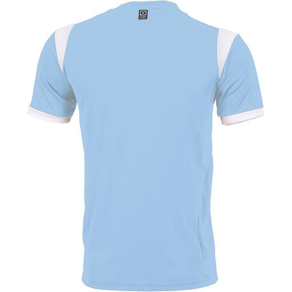 Hummel Club Shirt Korte Mouw Heren - Lichtblauw / Wit