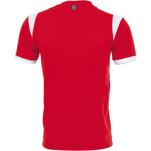 Hummel Club Shirt Korte Mouw Heren - Rood / Wit