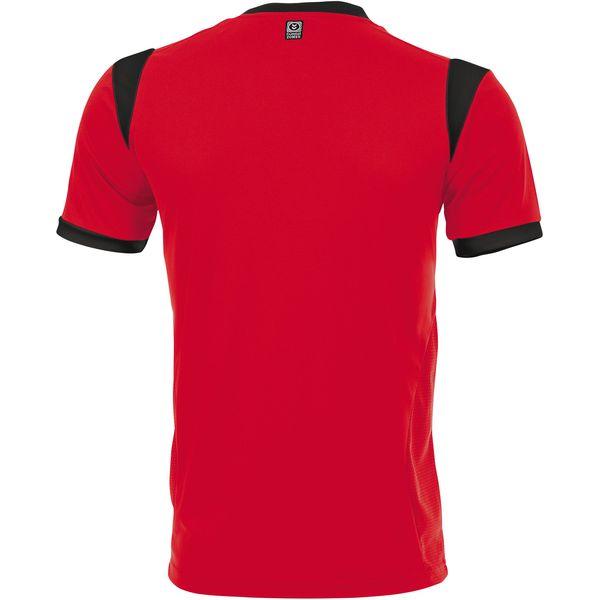 Hummel Club Shirt Korte Mouw Kinderen - Rood / Zwart