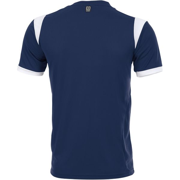 Hummel Club Shirt Korte Mouw Heren - Marine / Wit