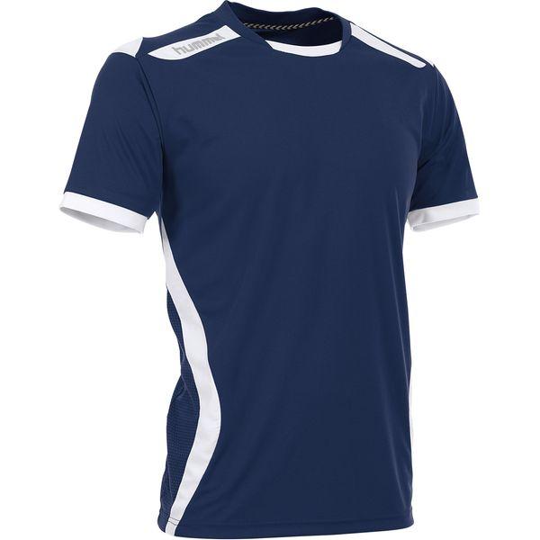 Hummel Club Shirt Korte Mouw Kinderen - Marine / Wit