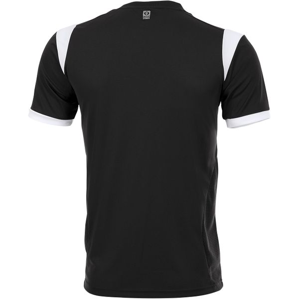 Hummel Club Shirt Korte Mouw Heren - Zwart / Wit
