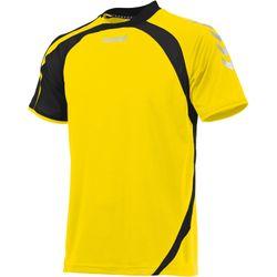 Hummel Odense Shirt Korte Mouw Heren - Geel / Zwart