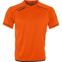 Hummel Leeds Maillot Manches Courtes Hommes - Orange / Noir