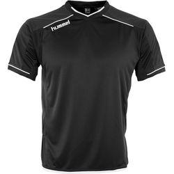 Hummel Leeds Shirt Korte Mouw Kinderen - Zwart / Wit