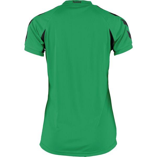 Hummel Everton Shirt Korte Mouw Dames - Groen / Zwart