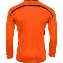 Voorvertoning: Hummel Preston Voetbalshirt Lange Mouw - Oranje / Zwart