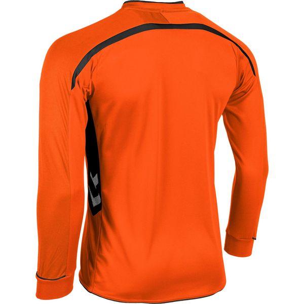 Hummel Preston Voetbalshirt Lange Mouw - Oranje / Zwart