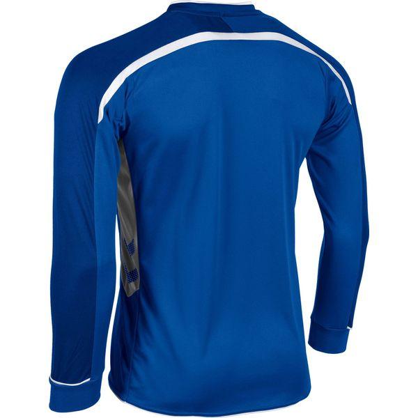 Hummel Preston Voetbalshirt Lange Mouw - Royal / Wit