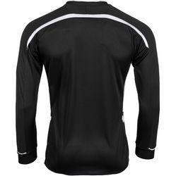 Voorvertoning: Hummel Preston Voetbalshirt Lange Mouw Kinderen - Zwart / Wit