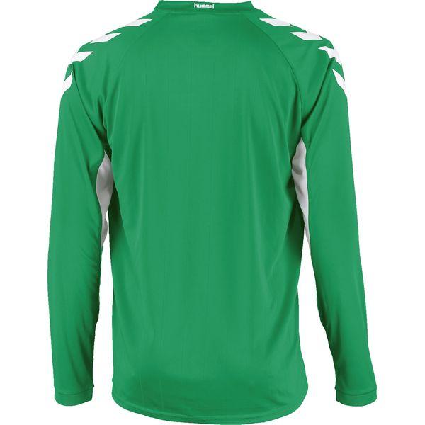 Hummel Everton Voetbalshirt Lange Mouw Heren - Groen / Wit