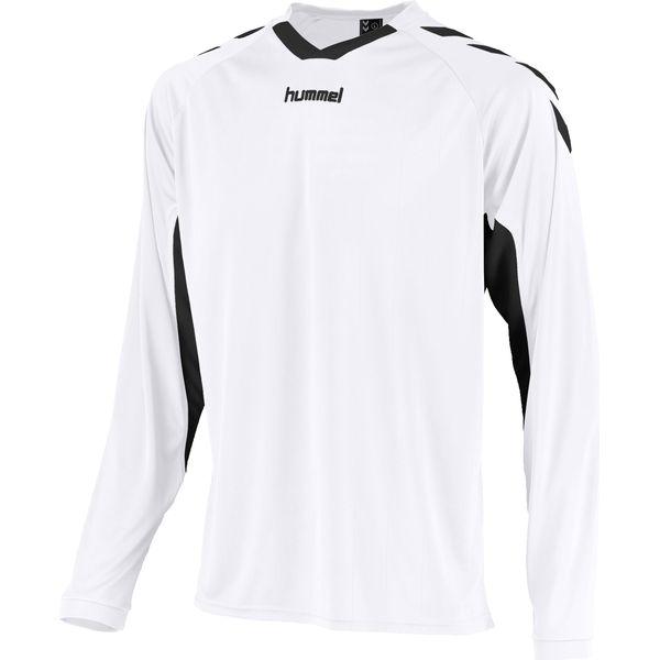 Hummel Everton Voetbalshirt Lange Mouw Kinderen - Wit / Zwart
