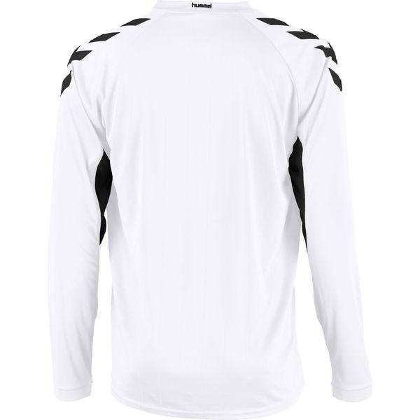 Hummel Everton Voetbalshirt Lange Mouw Heren - Wit / Zwart