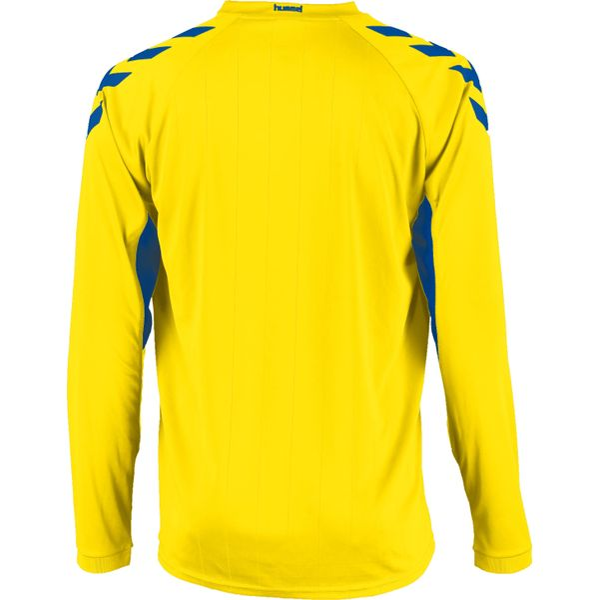 Hummel Everton Voetbalshirt Lange Mouw Kinderen - Geel / Royal