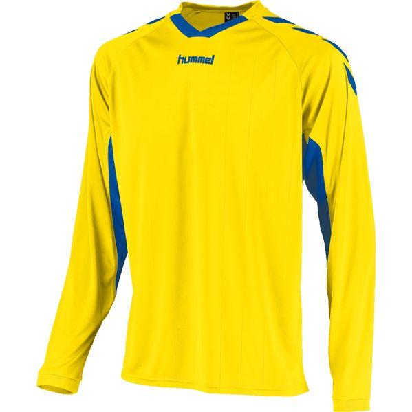 Hummel Everton Voetbalshirt Lange Mouw Heren - Geel / Royal