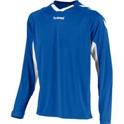 Voorvertoning: Hummel Everton Voetbalshirt Lange Mouw Kinderen - Royal / Wit