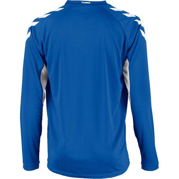 Hummel Everton Voetbalshirt Lange Mouw Kinderen - Royal / Wit