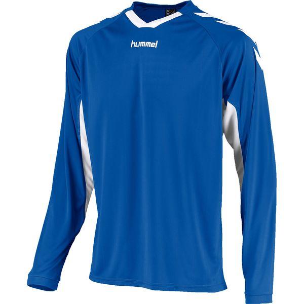 Hummel Everton Voetbalshirt Lange Mouw Heren - Royal / Wit
