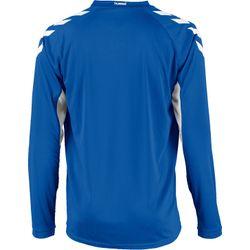 Voorvertoning: Hummel Everton Voetbalshirt Lange Mouw Heren - Royal / Wit