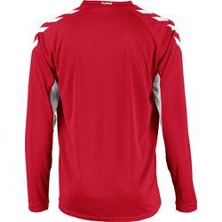 Voorvertoning: Hummel Everton Voetbalshirt Lange Mouw Kinderen - Rood / Wit