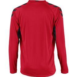 Voorvertoning: Hummel Everton Voetbalshirt Lange Mouw Kinderen - Rood / Zwart