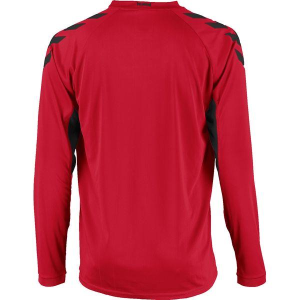 Hummel Everton Voetbalshirt Lange Mouw Heren - Rood / Zwart