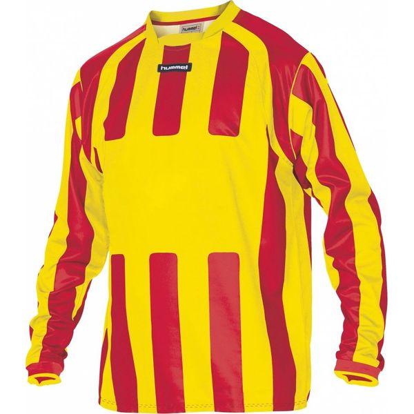 Hummel Atletico Voetbalshirt Lange Mouw Heren - Geel / Rood